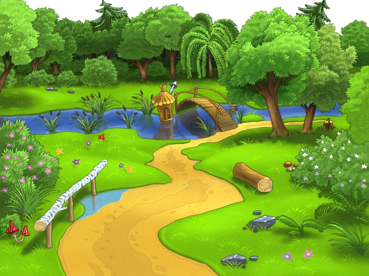 natural dibujos animados
