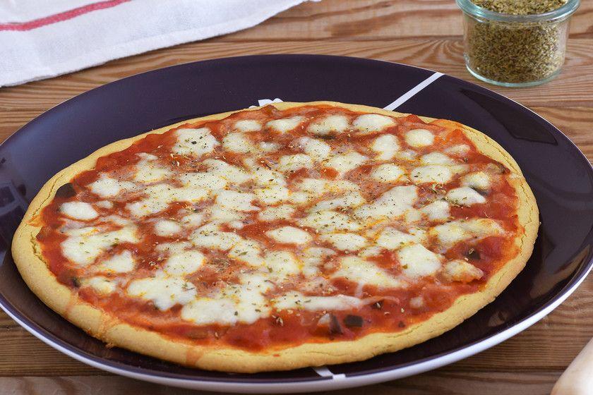 Te Explicamos Paso A Paso De Manera Sencilla La Elaboración De La Receta Pizza Con Harina De Garbanzos Harina De Garbanzo Recetas Saludables Recetas Veganas