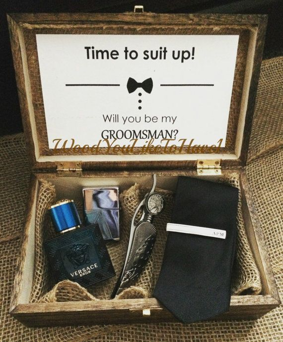 Wedding Gifts For My Groomsmen : of 5 Custom Wood gift boxes. Groomsmen by WoodYouLikeToHave1 Wedding ...