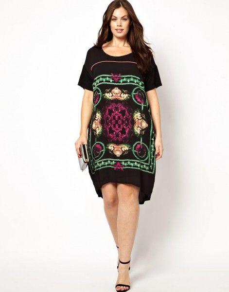 (Foto 25 de 27) 25 vestidos cortos para mujeres un poco más gorditas | HISPABODAS