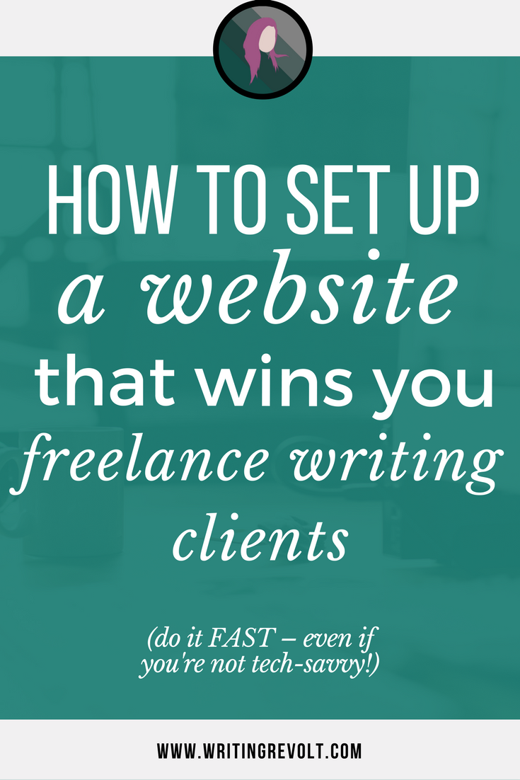 how to set up a lance writer website in 1 day or less check out this in depth guide to set up a lance writer website that sells portfolio website lance writer portfolio make money writing online
