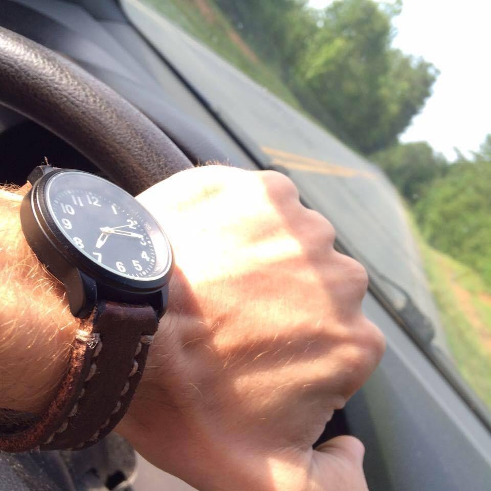 Handmade Geniune Leather Watchbands! *alloutadventuresupply.com* #leather #watchbands #handmade #giftsforhim #menswear