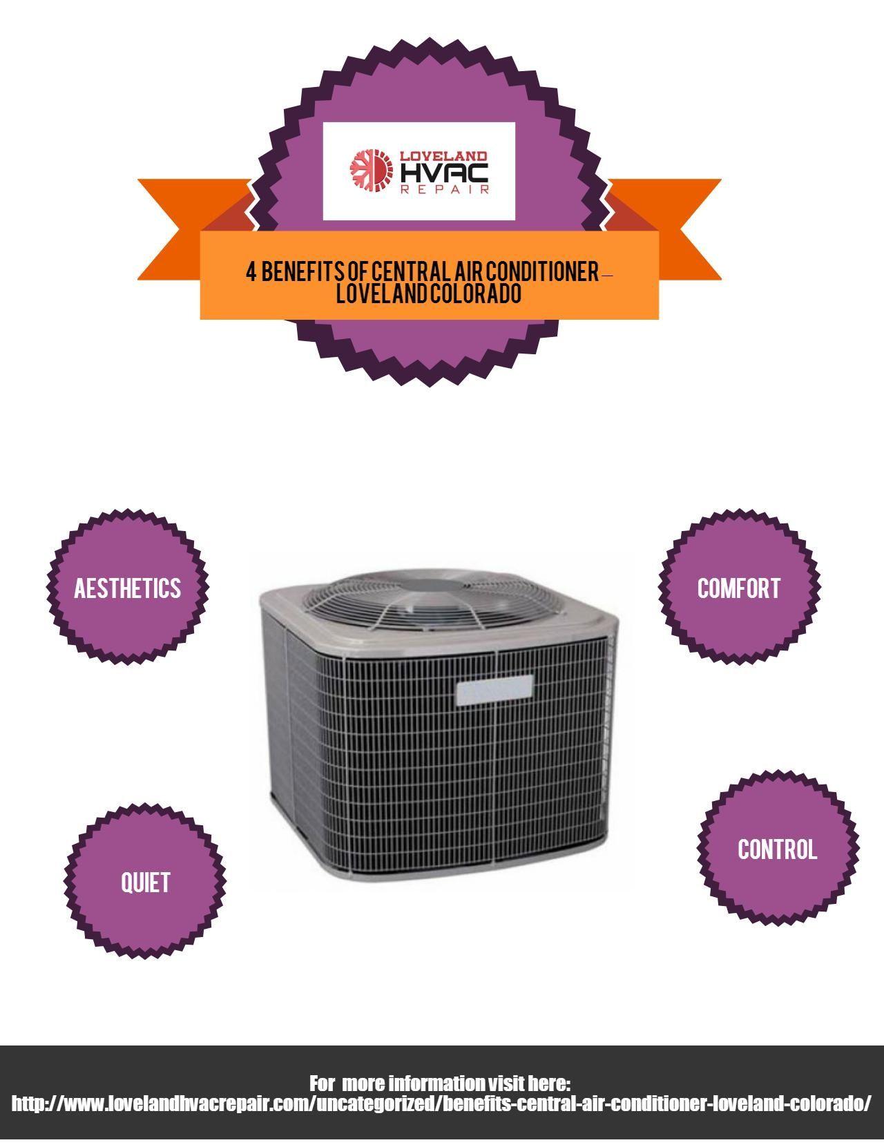 Benefits of Central Air Conditioner Loveland Colorado