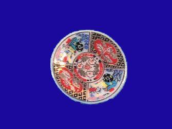 Plate - Imari design