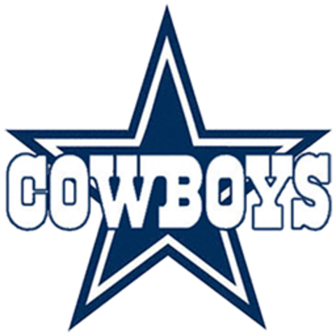 Old Fashioned image within dallas cowboys printable logo
