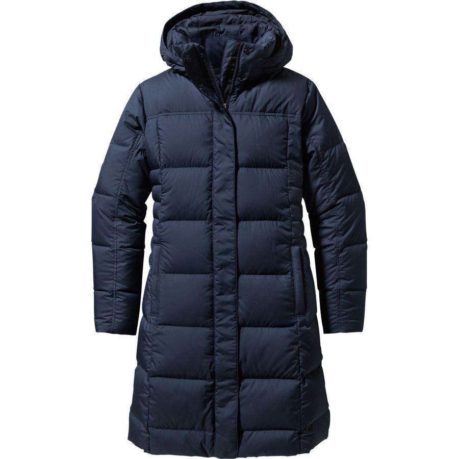 Patagonia damen winterjacke mantel tres parka schwarz
