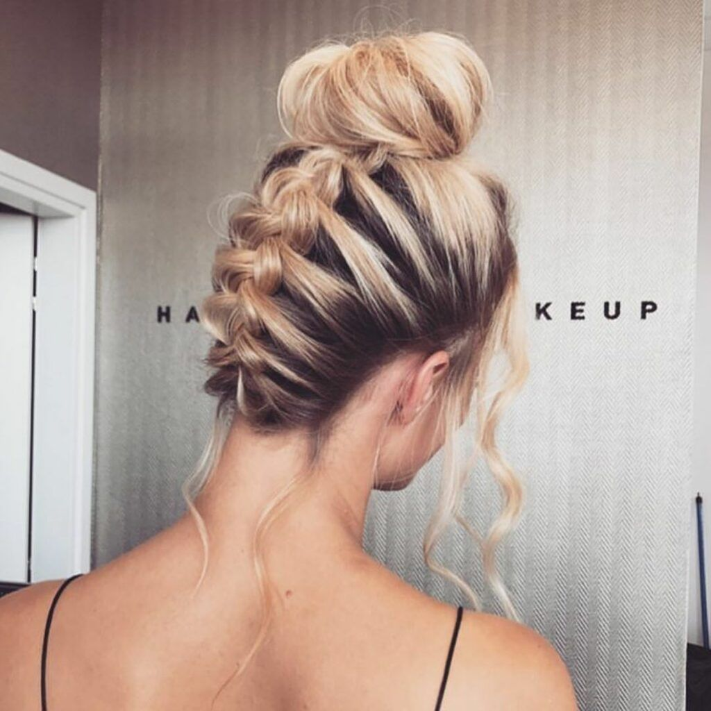 Homecoming Hairstyle Ideas Updo Hairstyles For Prom Night Blonde Braided Hairstyes Dance Hairstyles Homecoming Hairstyles Prom Hairstyles For Long Hair