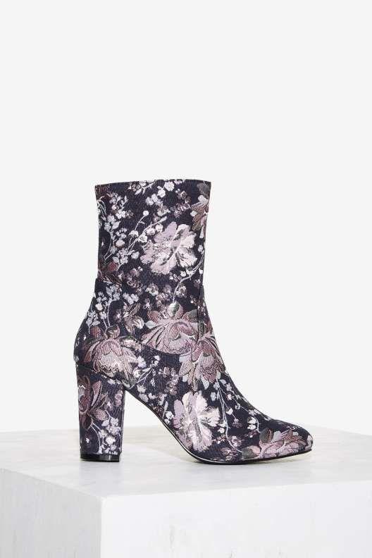 95cebaaa437c2 Nasty Gal Tibby Tapestry Boot