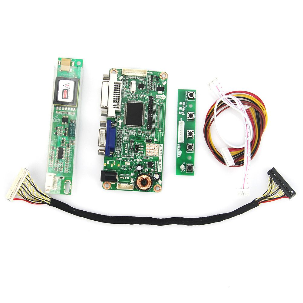 For LTN170WP-L02  VGA+DVI M.RT2261 M.RT2281 LCD/LED Controller Driver Board LVDS Monitor Reuse Laptop 1680x1050