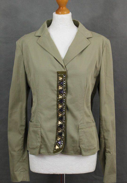 e9dcd5f9177dca PHILOSOPHY DI ALBERTA FERRETTI Ladies Embellished JACKET - Size UK ...