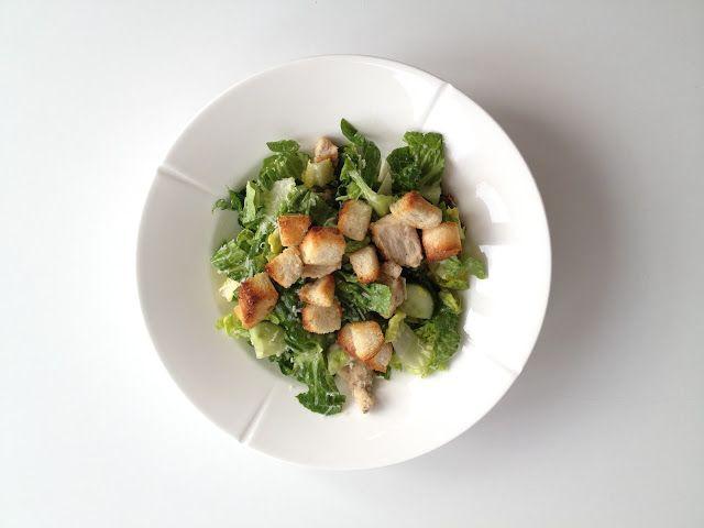 Caesar salat med brødcroutoner | Bedre Form