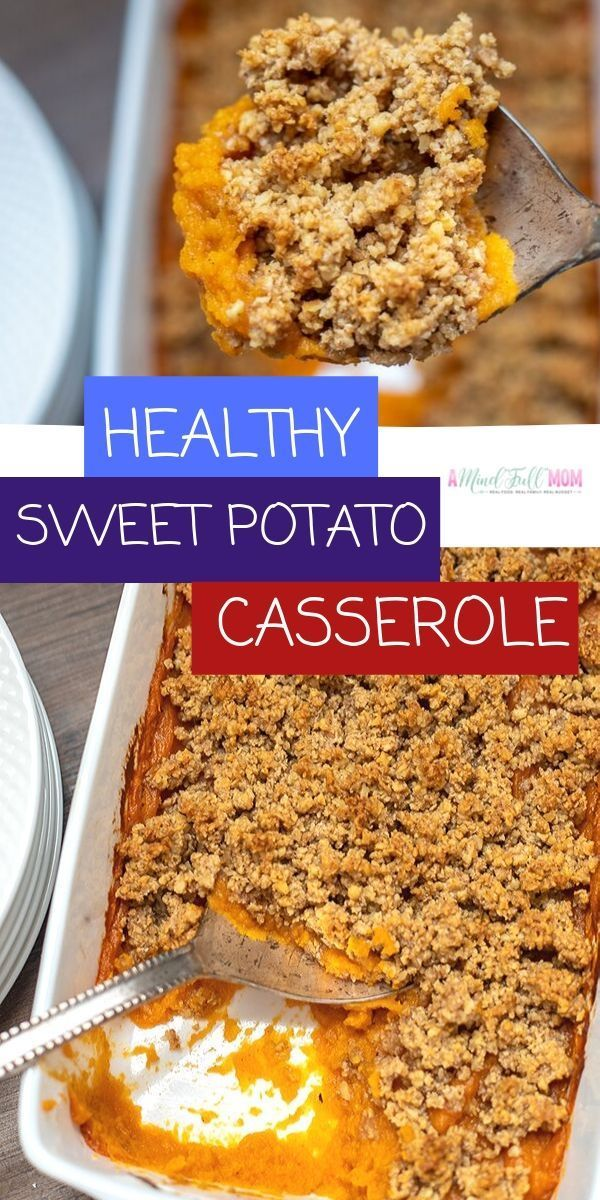 Healthy Sweet Potato Casserole (Gluten-Free & Vegan) A Mind Full Mom