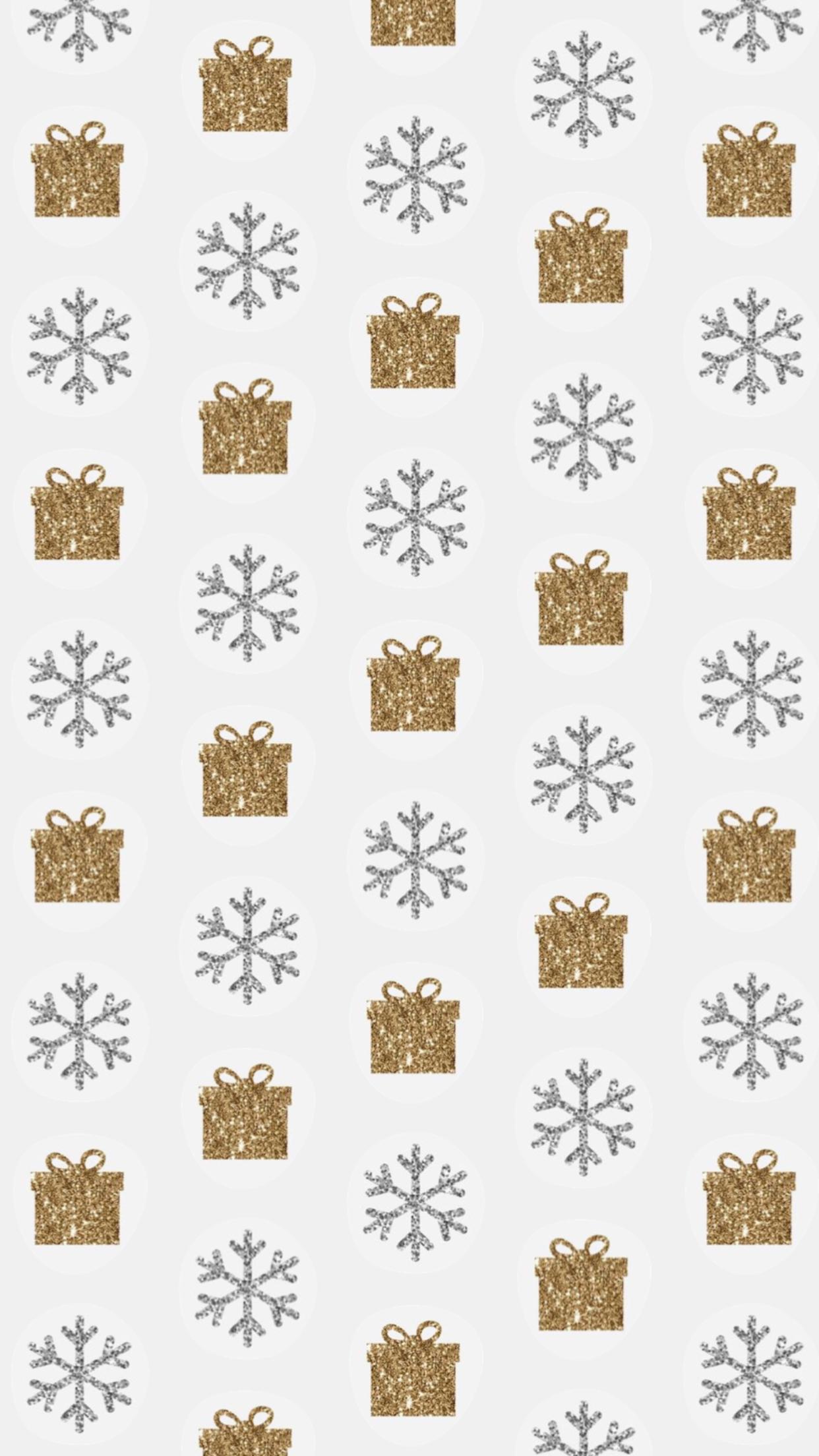 Wallpaper De Noel Fond Avec Flocons Et Cadeaux Fond D Ecran De Noel Pour Mobile Iphone Cute Christmas Wallpaper Xmas Wallpaper Christmas Wallpaper