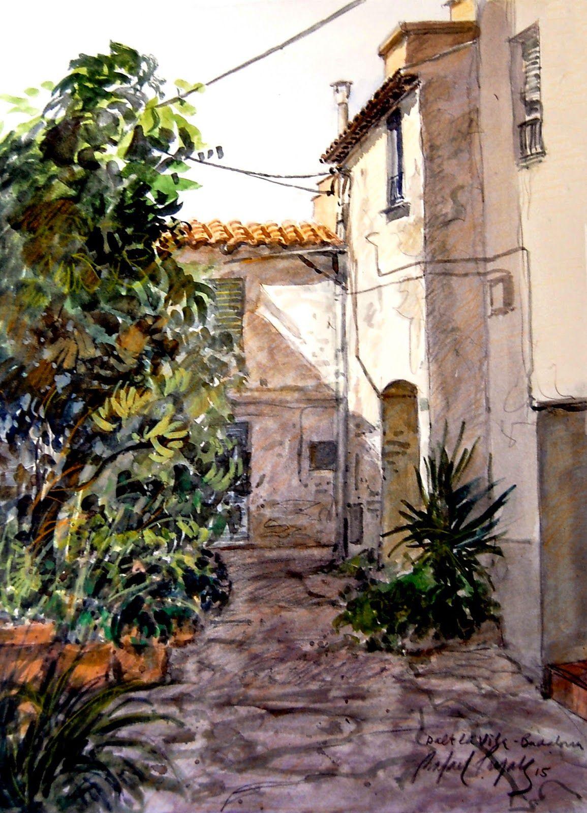 Rafael Pujals art: Racó de Dalt la Vila