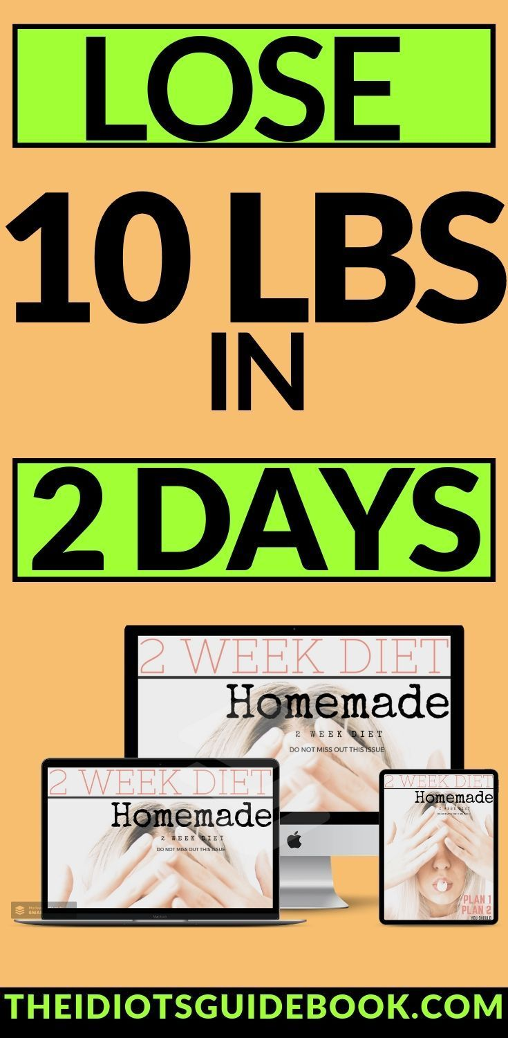 Lose 10 pounds in 2 days guaranteed