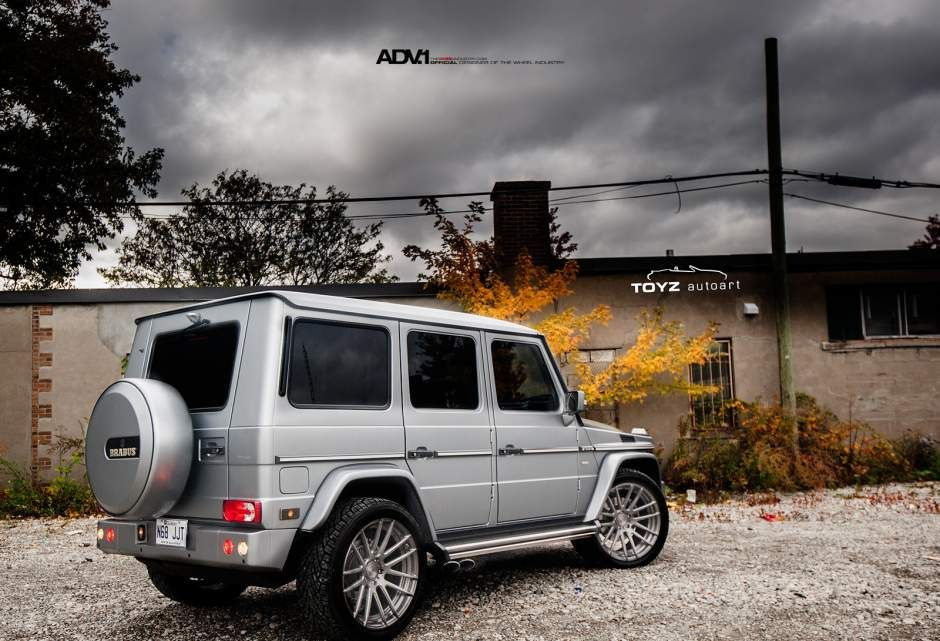Adv1 wheels brabus custom forged gunmetal rims mercedes for Mercedes benz g wagon g63