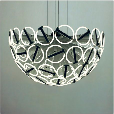 Calmares I- Chandelier By: Strala
