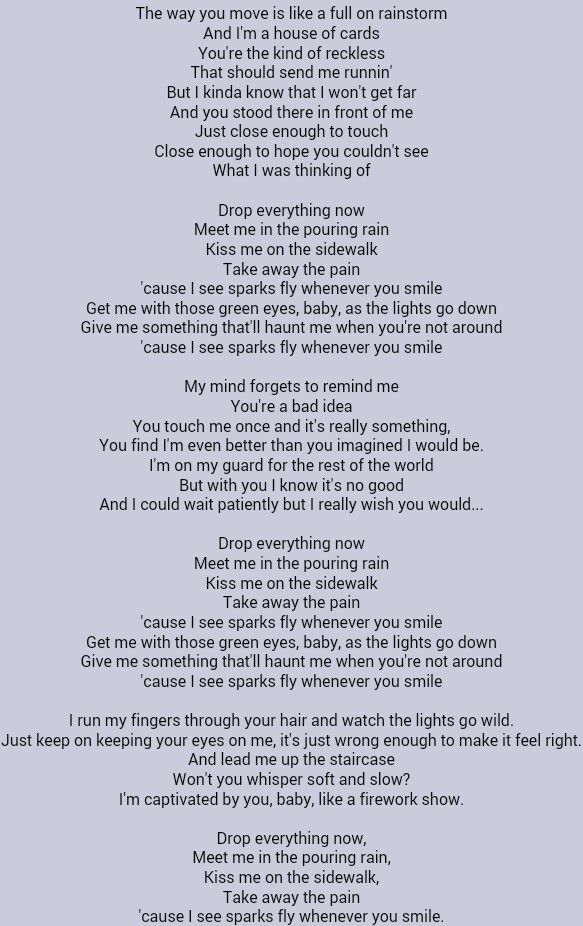 Taylor Swift Sparks Fly Song Lyric Quotes Country Music Quotes Favorite Lyrics