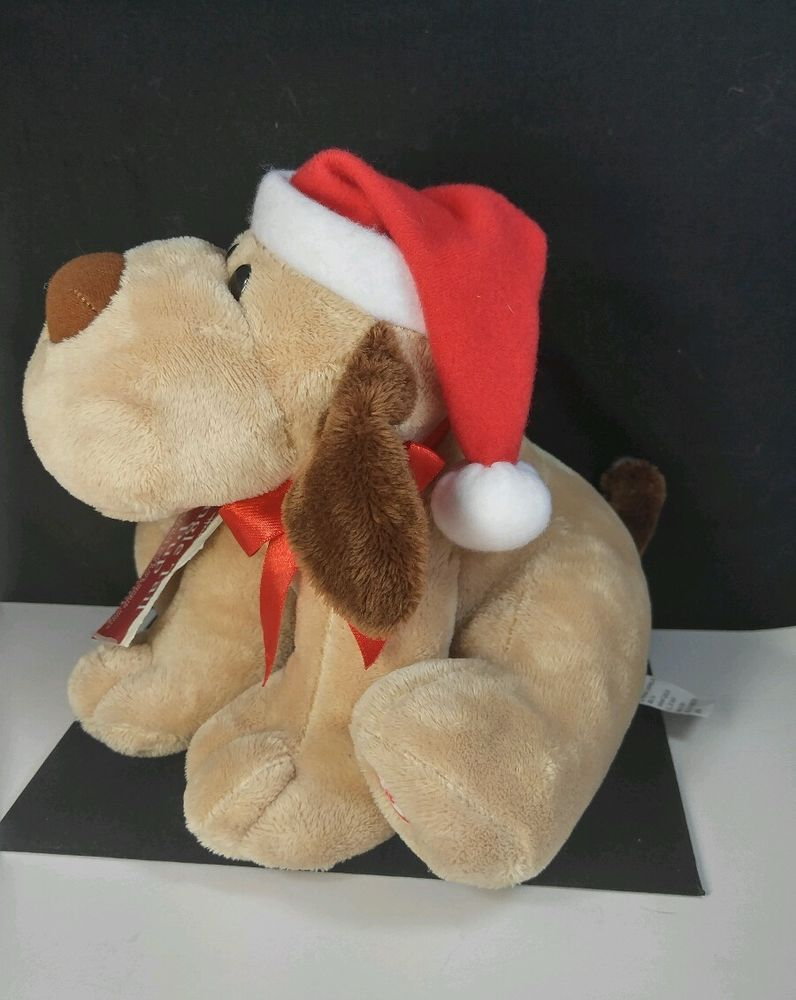 Hallmark Jingle Bell Tail Pup Plush Dog doll Barks Christmas Song ...