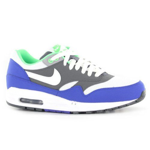 3d2443f9ab Nike Air Max 1 Essential White Grey Mens Trainers Size 11.5 US Nike,http: