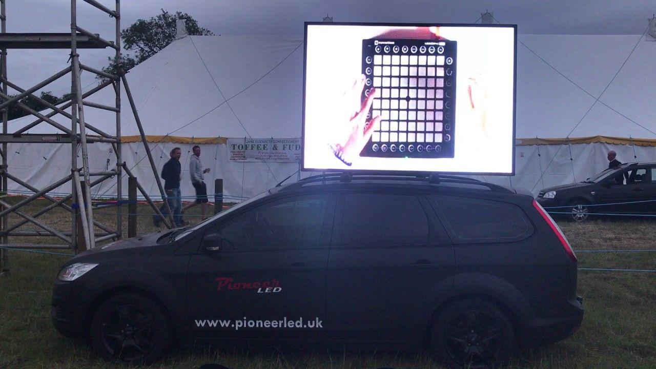 Digi car mobile led billboard advert screen display