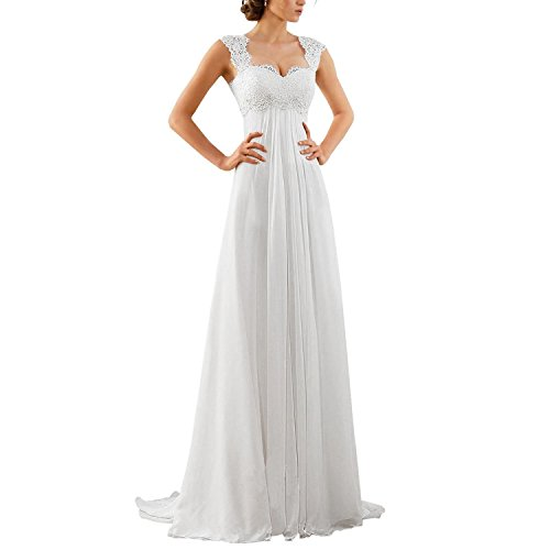 Women's Sleeveless Lace Chiffon Evening Wedding Dresses Bridal Gowns #fashion #womenfashion #menfashion #clothing #lacechiffon Women's Sleeveless Lace Chiffon Evening Wedding Dresses Bridal Gowns #fashion #womenfashion #menfashion #clothing #lacechiffon