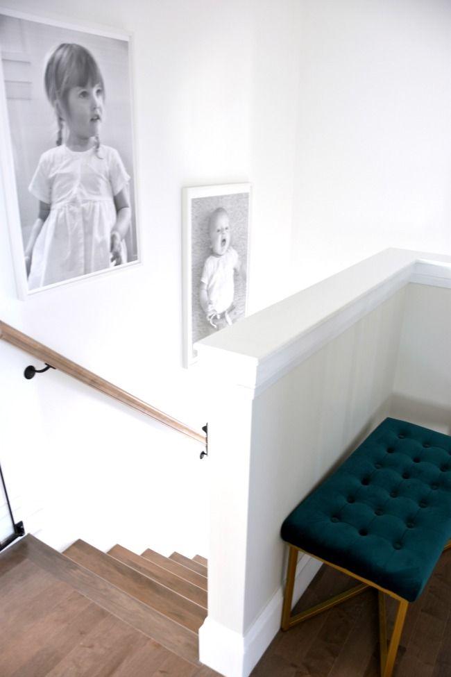 one room challenge week 3 big art with engineer prints engineer