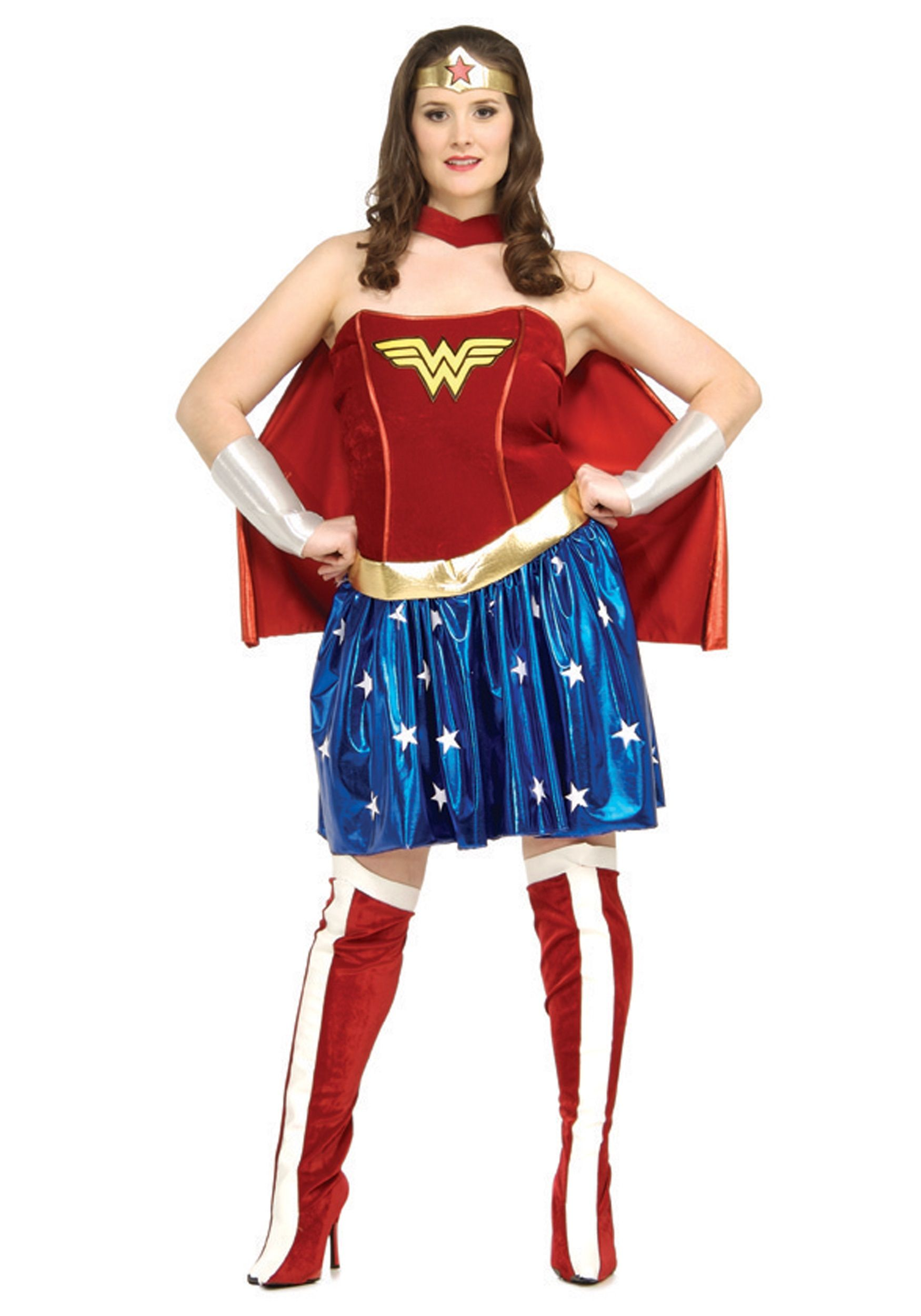 captain america costume | Wonder Woman Plus Size Costume - Wonder Woman Costume Adult