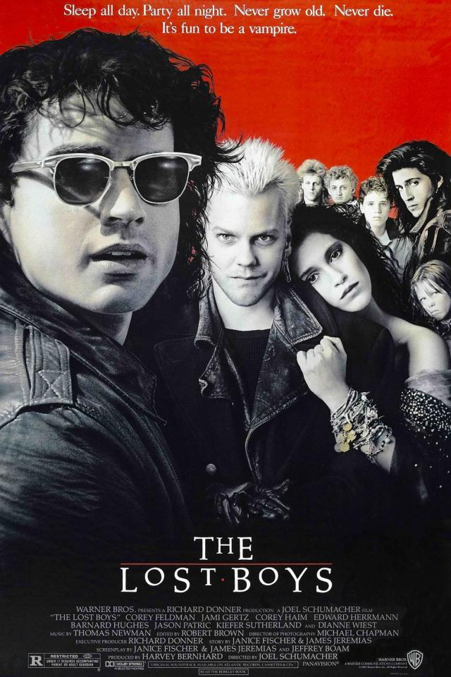 The Lost Boys 1987 Movie Poster 6845 Movie Posters Updated Daily Movies For Boys Lost Boys Movie Lost Boys