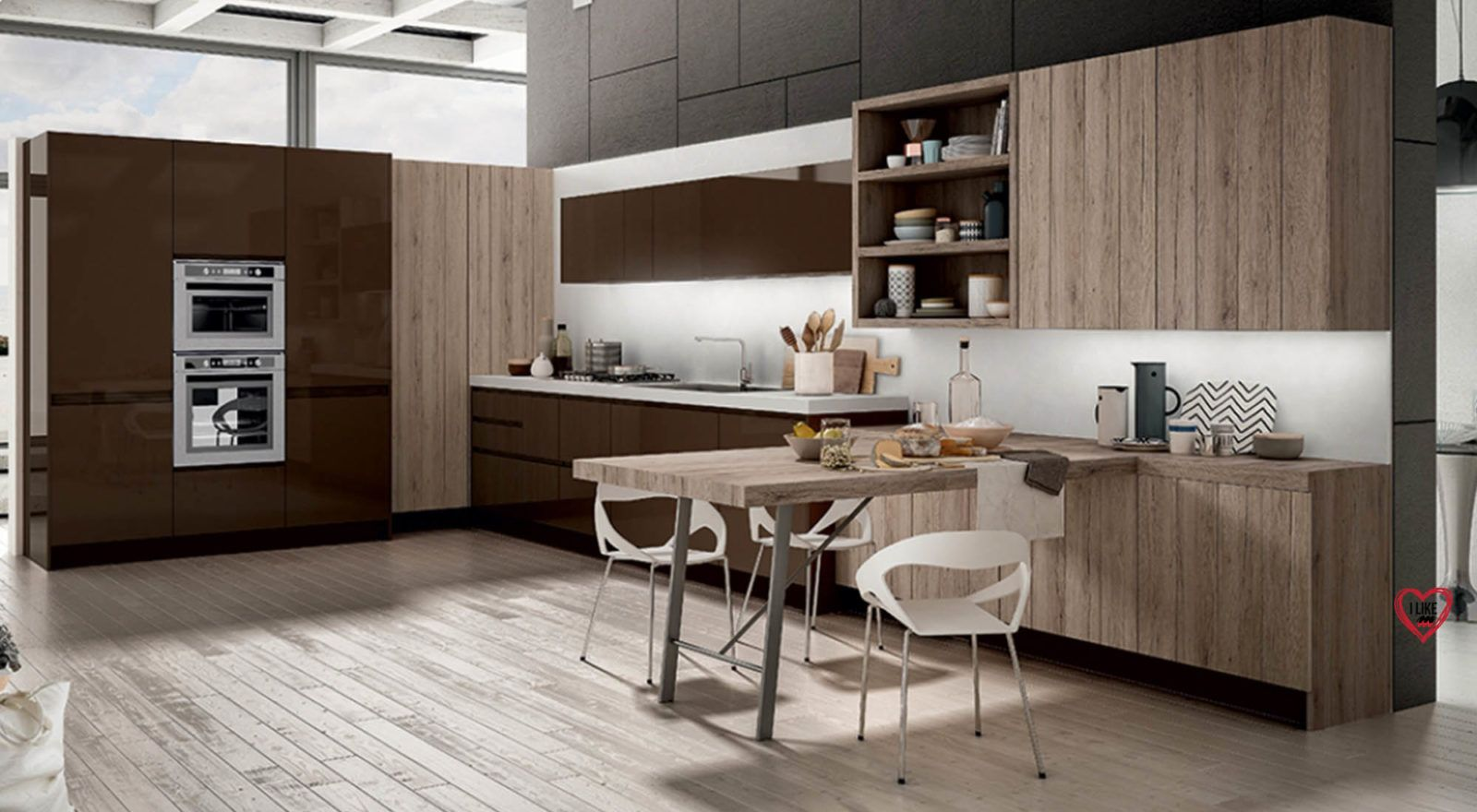 cucine moderne ad angolo | Konyha | Pinterest