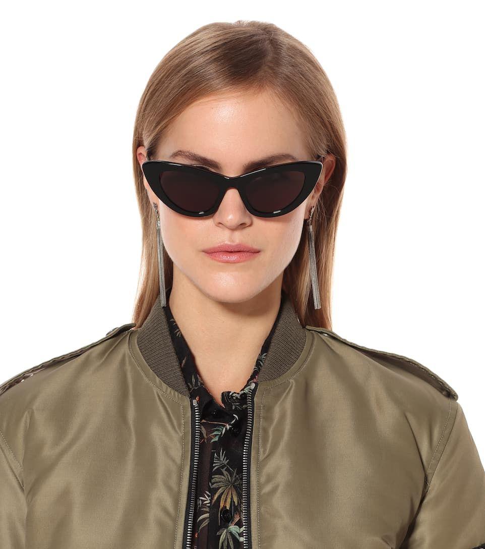 b2ebcfee09 New Wave 213 Lily Cat-Eye Sunglasses - Saint Laurent