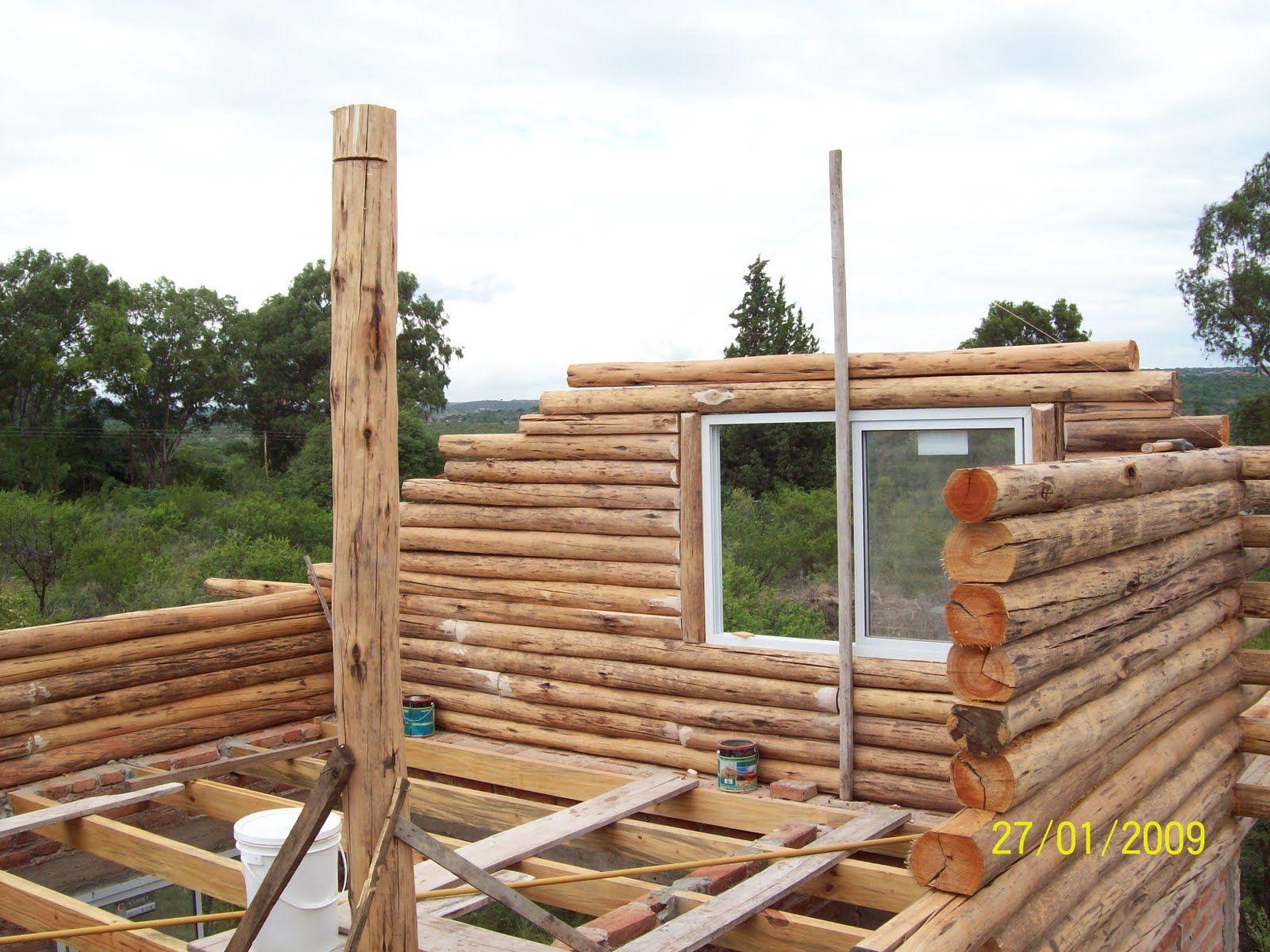 Construccion de cabaas de madera construcci 243 n de casas - Construccion de una casa ...