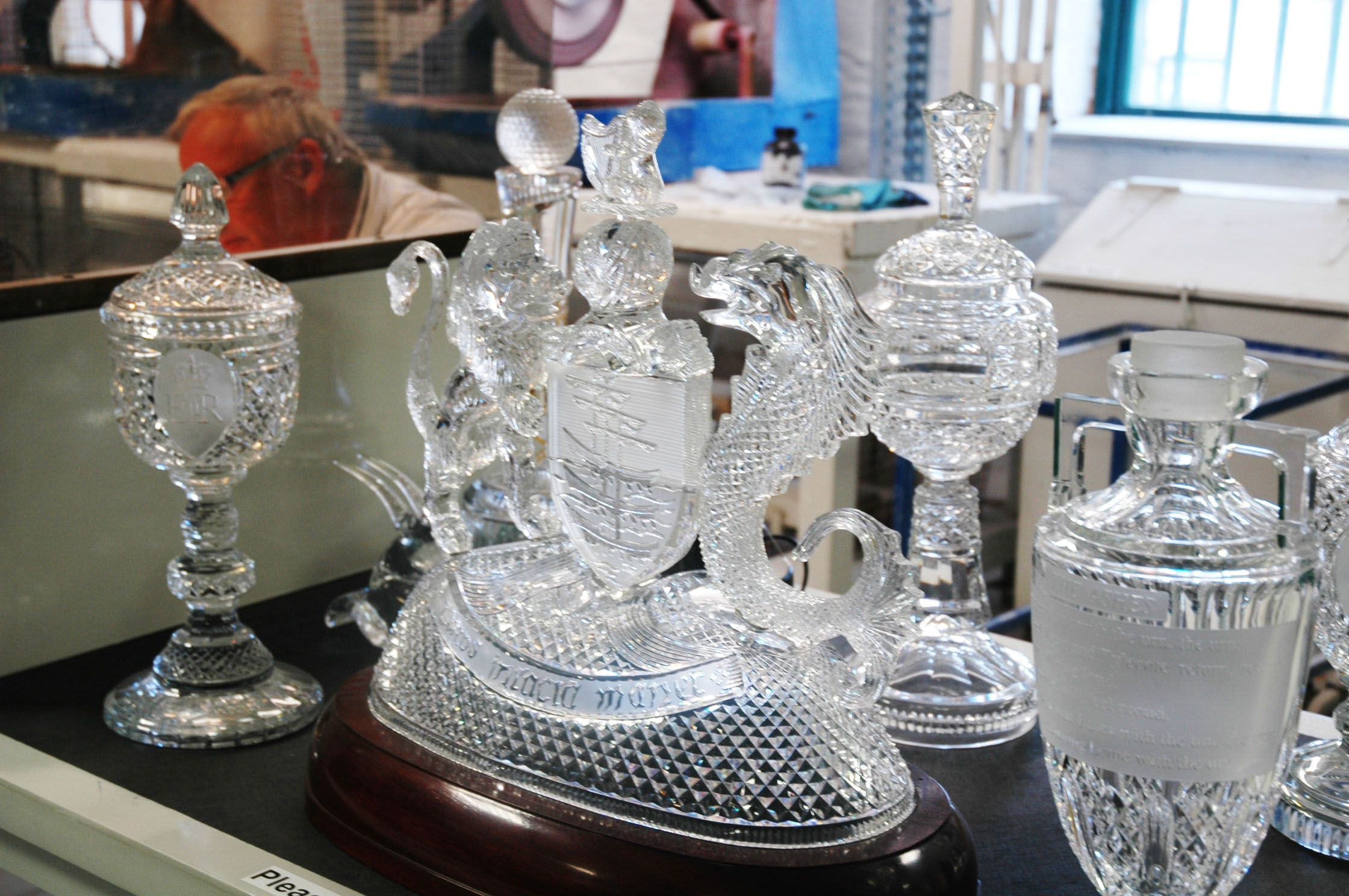 Waterford Crystal factory tour. Very interesting
