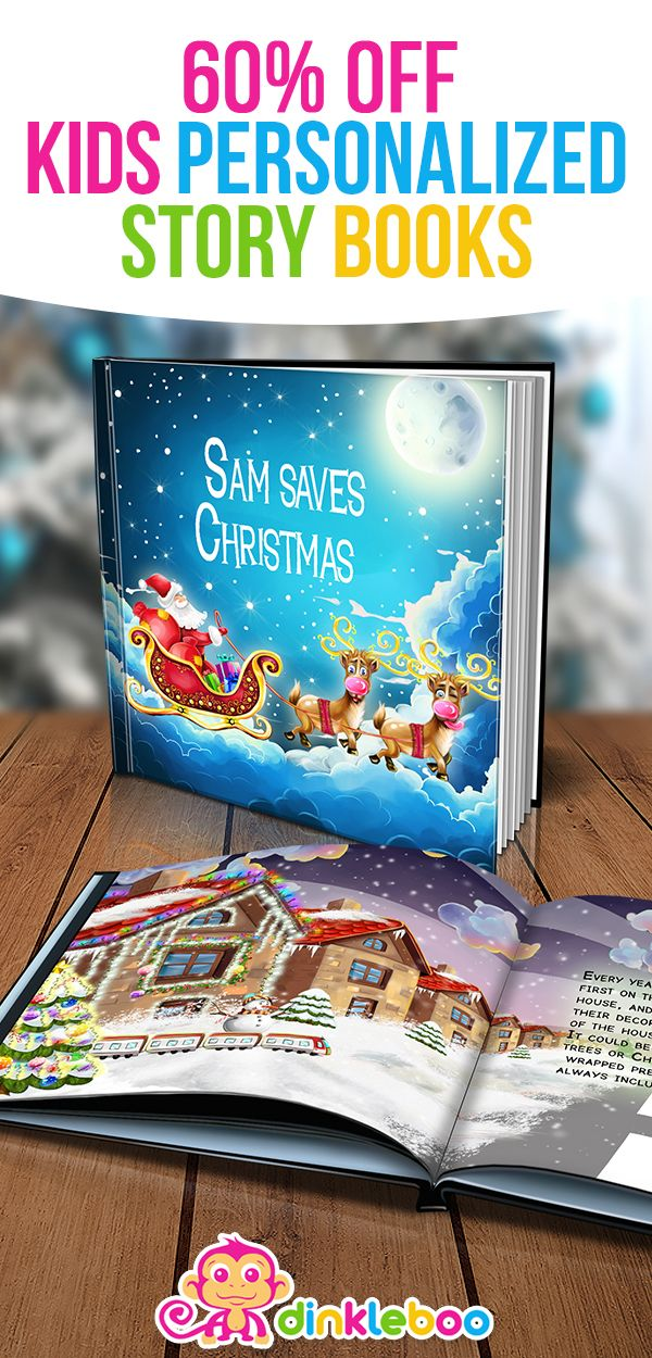 A story about your child saving Christmas by turning the lights on