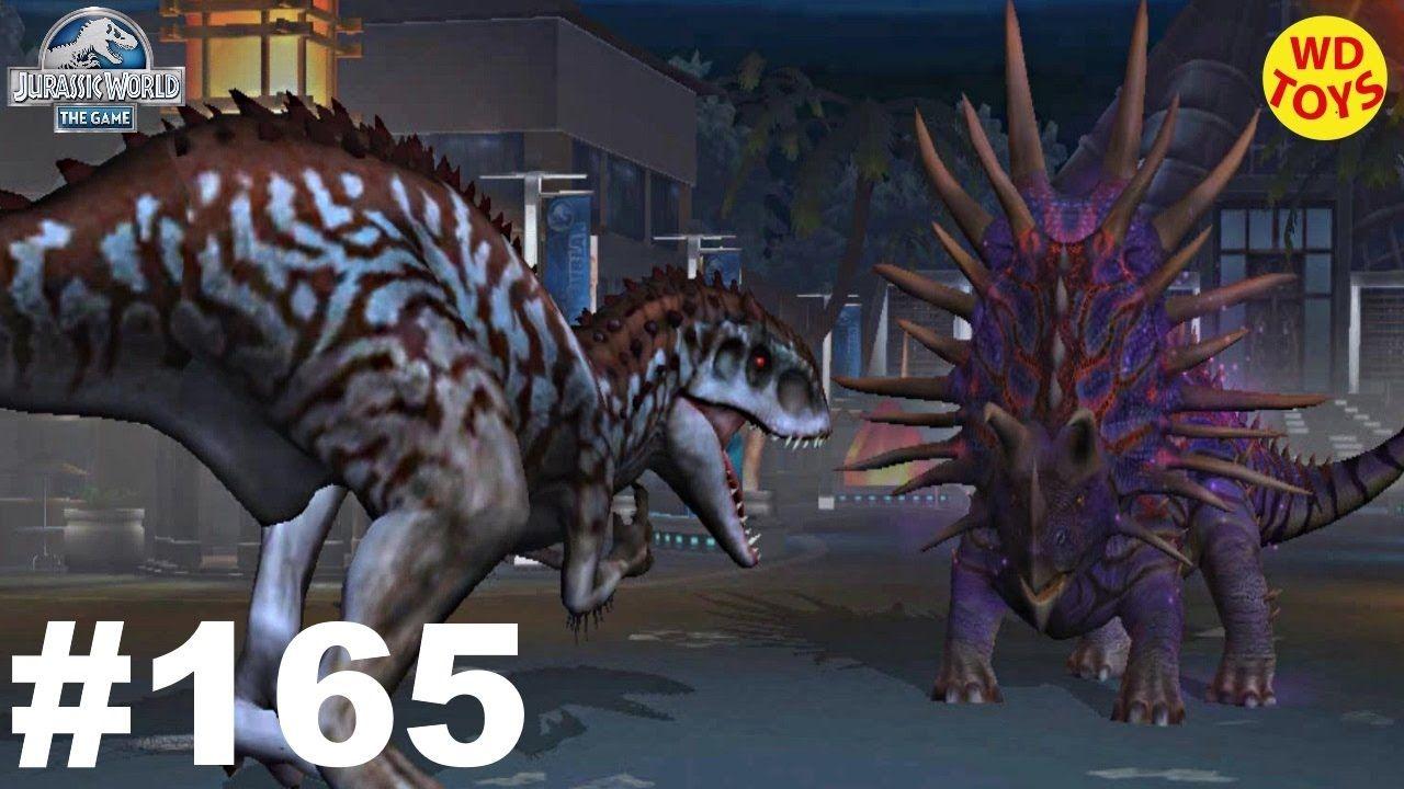 Indominus Rex Vs Juggernaut 32! Jurassic World The Game