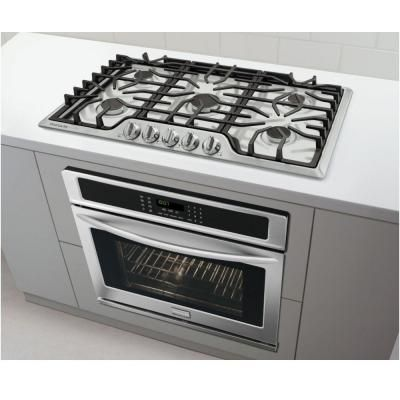 Frigidaire Gallery 36 in. Gas Cooktop in Stainless Steel ...