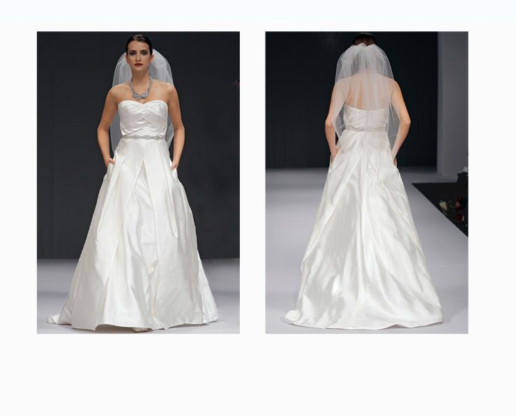 La Fleur By Anne Barge Bridal Gown