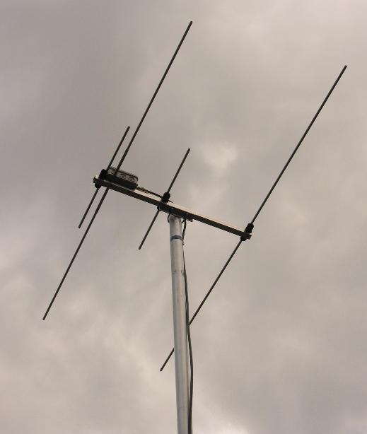 Duoband-Yagi 2m/70cm with 2/3-elements   Telsiz   Ham radio