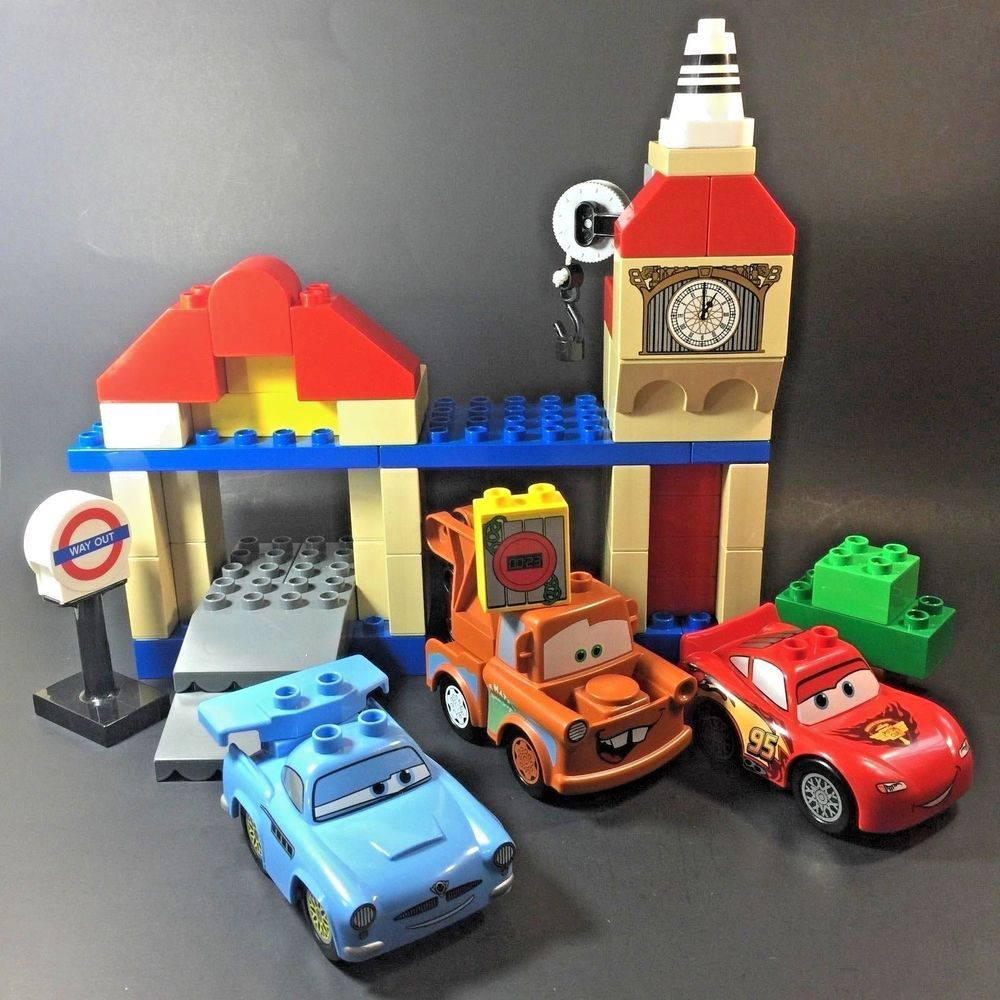 Lego Duplo 5828 Big Bently Set Disney Cars Lightning