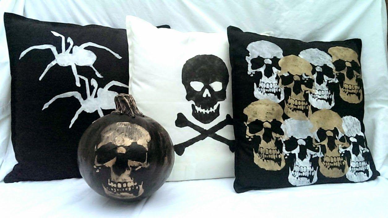 Creepy Halloween Cushions Creepy halloween, Halloween