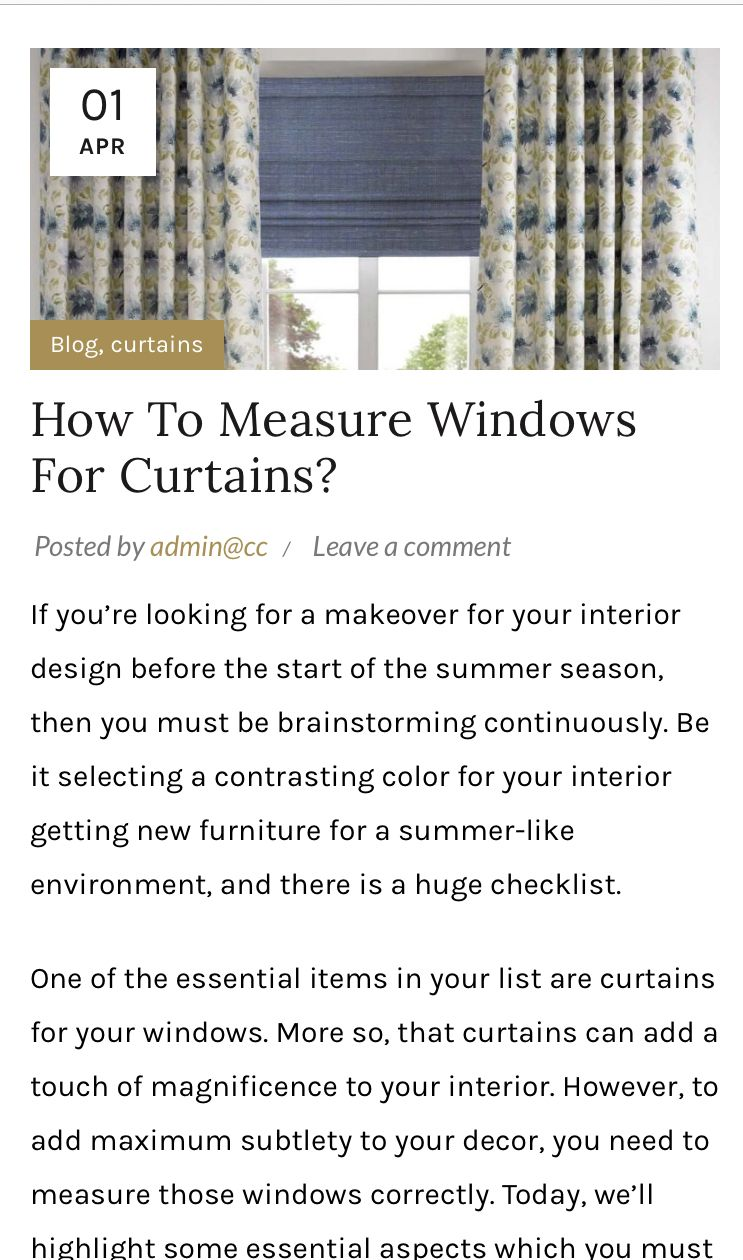 How to measure windows for curtains contemporary
