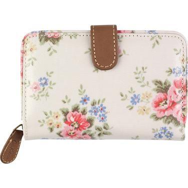 Pinny Flowers Folded Zip Wallet