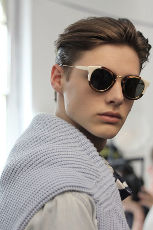 de4d57ceffd2 conqueered  butt-boy  Darwin Gray at MSGM S S 2015 by Kevin Pineda i want  those glasses