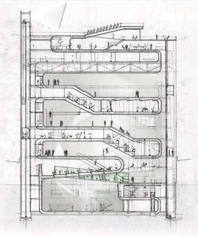 diller eye beam museum - Google Search AIA R + D Inspiration - new aia final completion