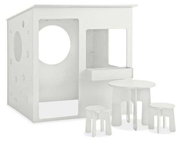The Loki Playhouse Brings Durable, Modern Design To Outdoor Play.  Transforming 100 Percent Recycled Great Ideas
