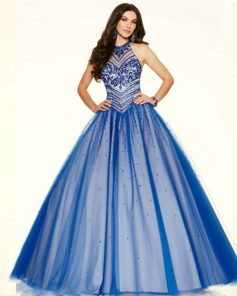 Ball gown style prom dresses