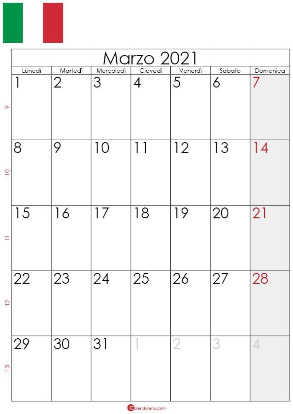 Calendario Marzo 2021 Word Calendario marzo 2021 da stampare in 2020 | Word search puzzle, Words