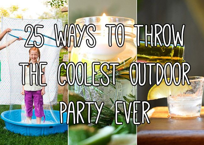 25 Backyard Party Ideas For The Coolest Summer Bash Ever ...