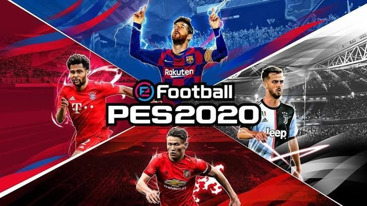 Download PES 2020 ISO PPSSPP efootball English Version in