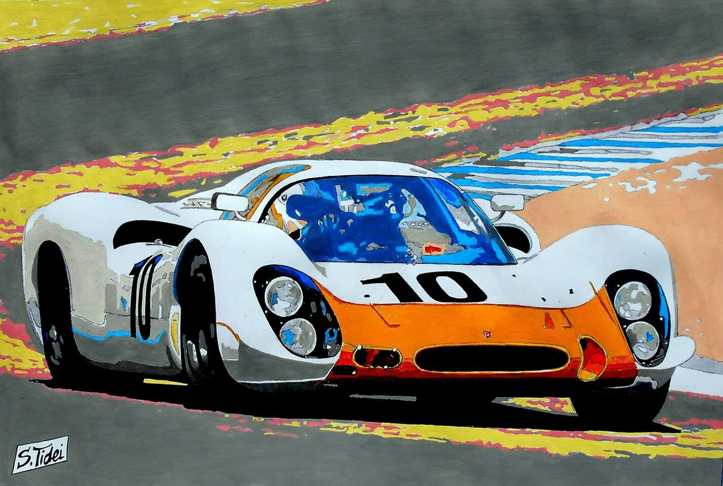 Pin by on Car Art Classic racing cars